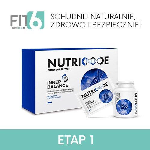 FIT6 Nutricode Etap 1 Inner Balance Odkwaszanie