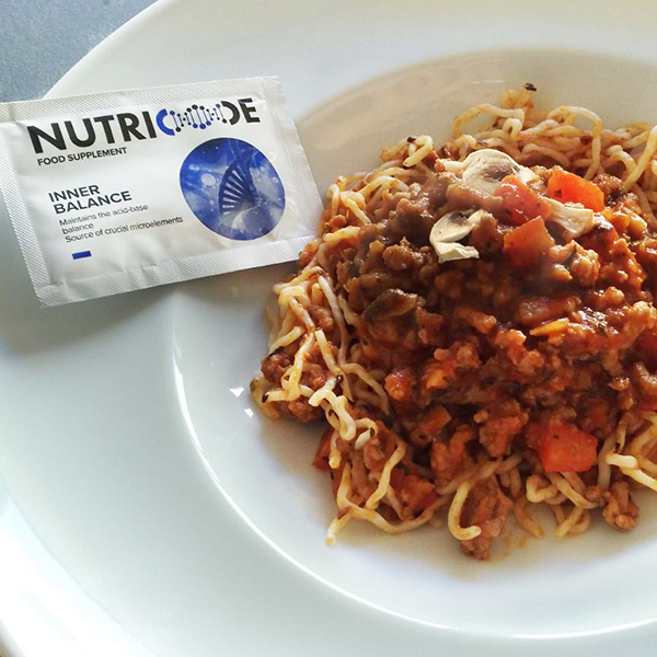 Spaghetti bolognese Low Carb FIT6 Nutricode